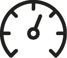 Icono velocimetro