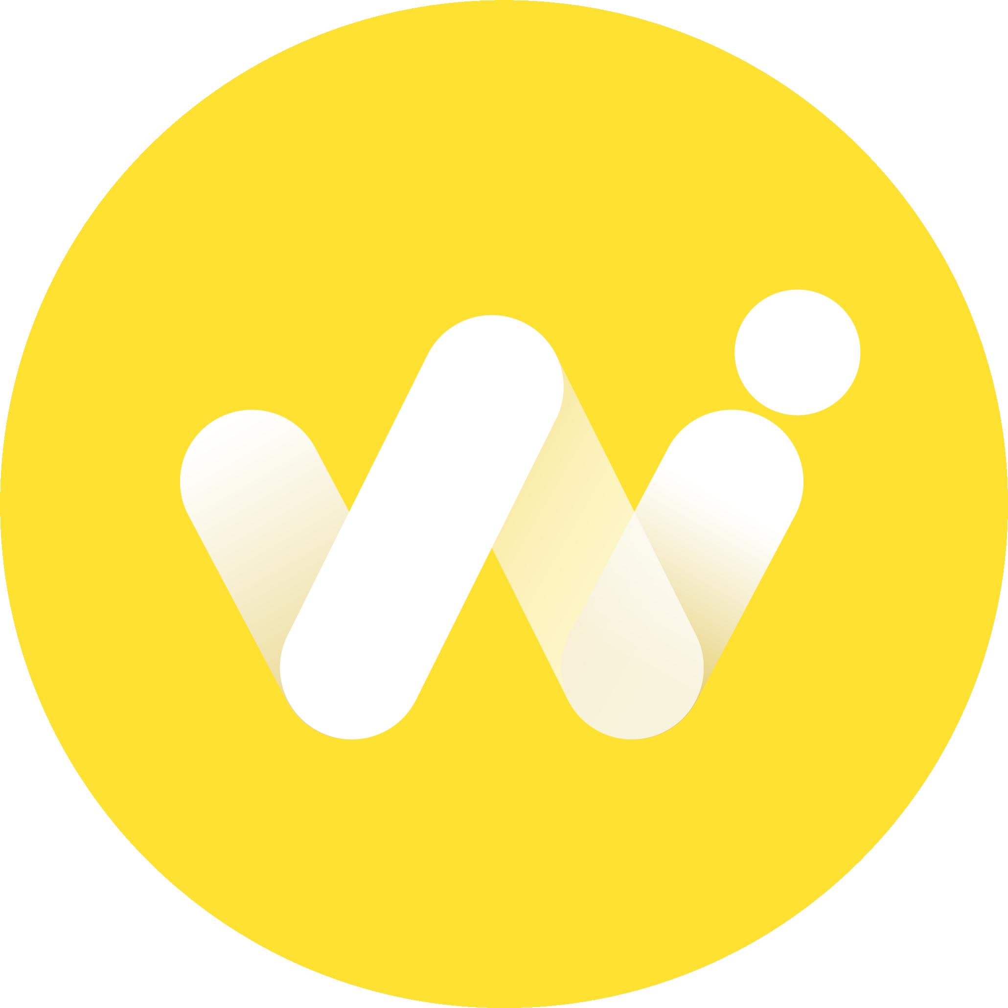 Logo wifly amarillo circular