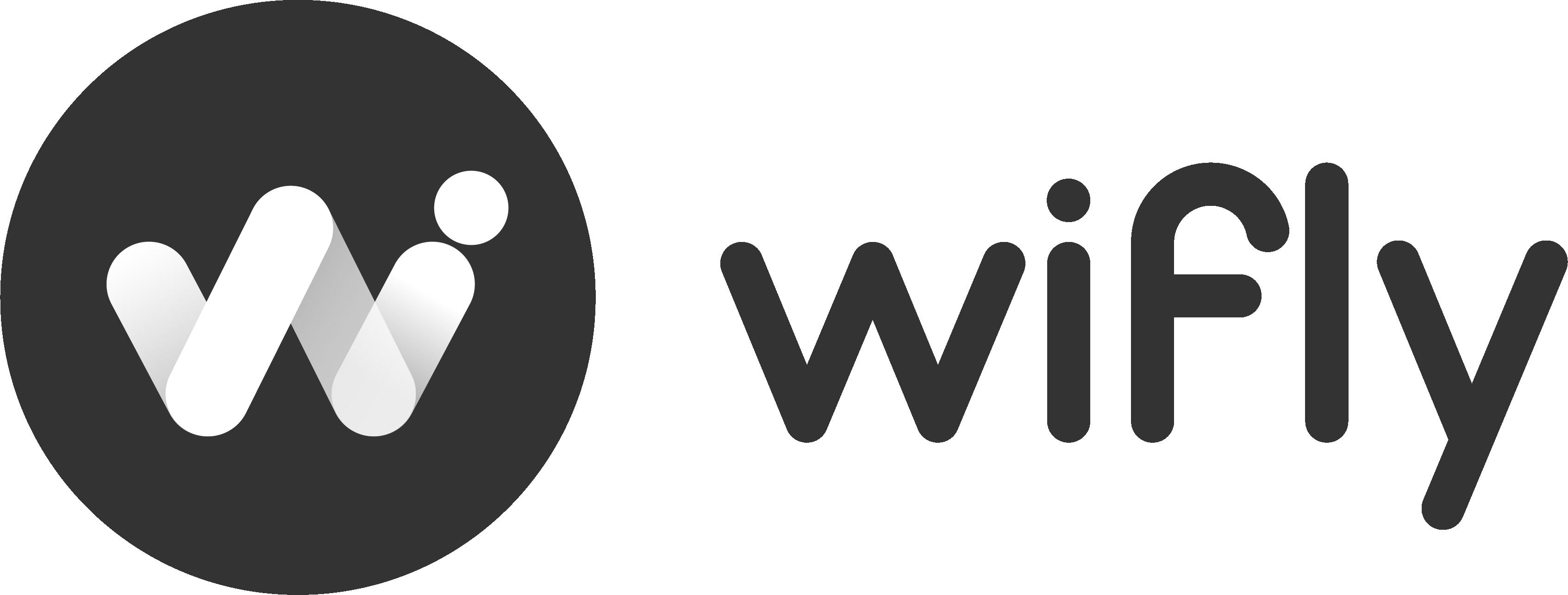 Logo wifly negro